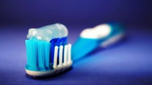 Tooth brush to keep your breath in check