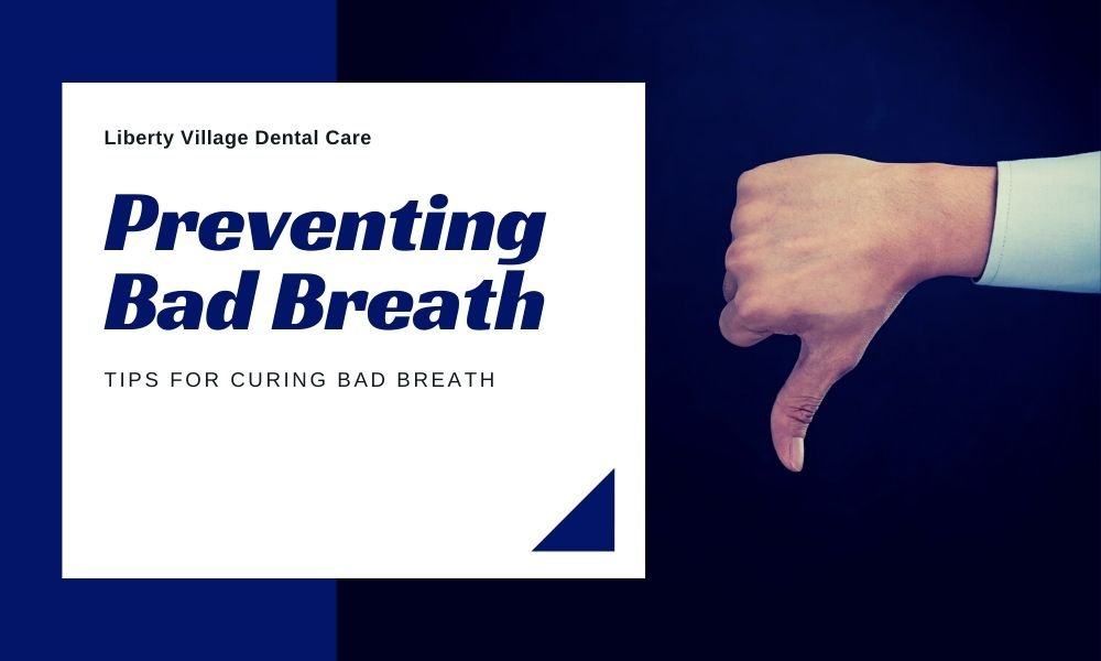 Tips for preventing bad breath