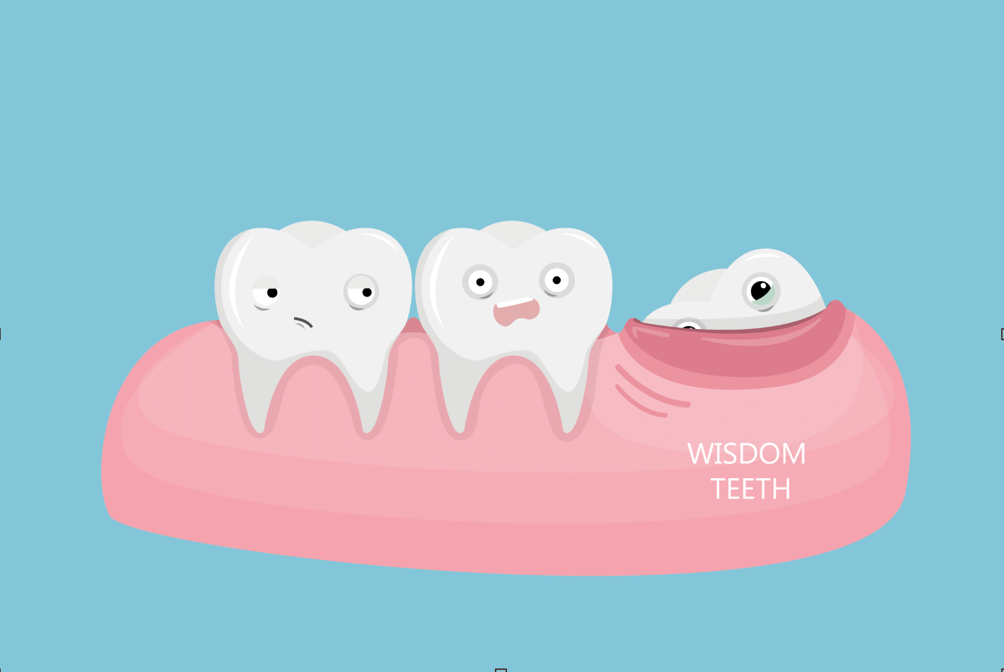 WHY ARE WISDOM TEETH REMOVED? WHAT IS THE PROCEDURE LIKE?