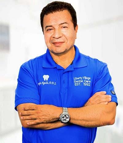 Dr. Sergio Aguila, dentist victorville